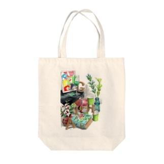 HAGI隠れ Tote Bag