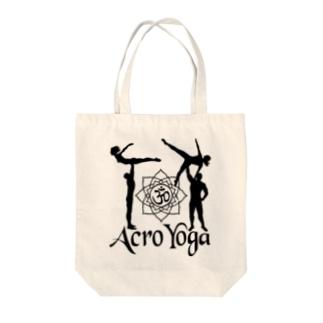 AcroYoga BirdOmStar Tote bags
