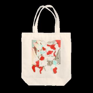 水草の金魚2 Tote bags
