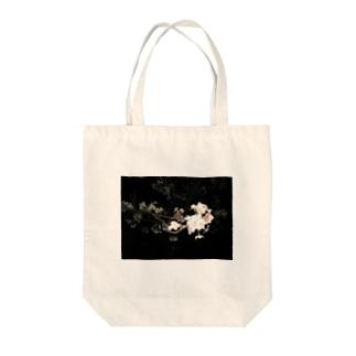 cozcozの夜桜 Tote bags