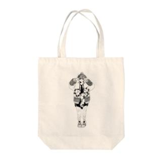 -Hyuga-のぴーす(色なし) Tote bags