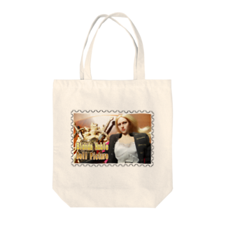 FUCHSGOLDのドール写真:ブロンド貴婦人★白地の製品だけご利用ください!! Doll picture: Blonde noble★Recommend for white base products only !!  Tote bags