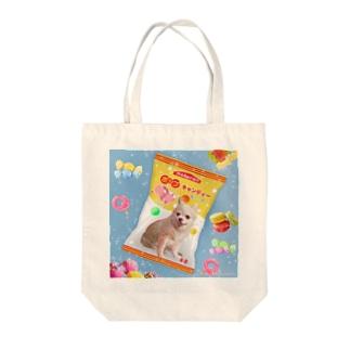 tinamagicalのcandy Tote bags