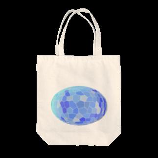 水草のブルー玉 Tote bags