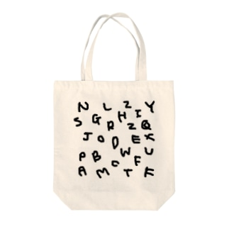 kyoconutの私文字(殴り書きver.) Tote bags