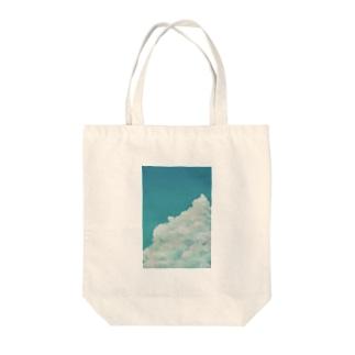 雲と蝉 Tote bags