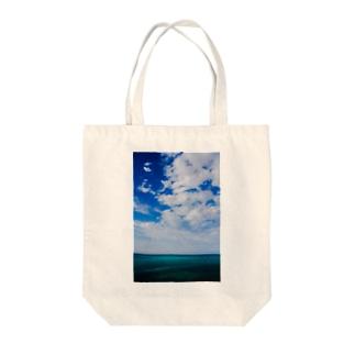 yuki-worksのocean  Tote bags