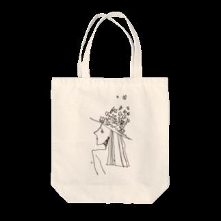 fDESIGNのfm_14b_予感 Tote bags