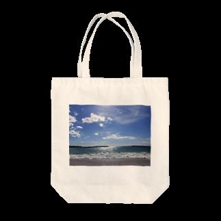 min☺︎︎のlove…sea Tote bags