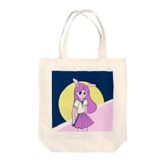 sara33suzuriのうさぎ娘 Tote bags