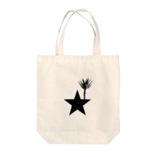ブラックスター 004(Blackstar 004)with アロエ・ディコトマ(aloe dichotomal) Tote bags
