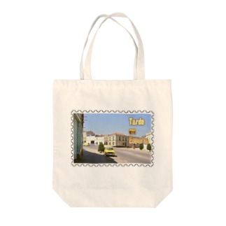 FUCHSGOLDのスペイン:村の昼下がり★白地の製品だけご利用ください!! Spain: Afternoon of village★Recommend for white base products only !! Tote bags