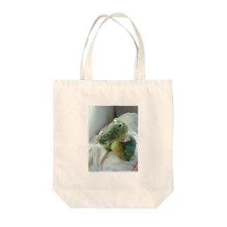 わにのすけ Tote bags