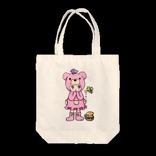 Suzuki Satomi イラストショップのベアミちゃん Tote bags