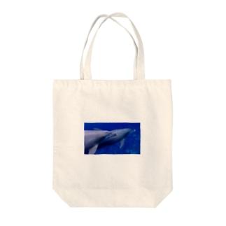 minamoのMIKURA dolphin Tote bags
