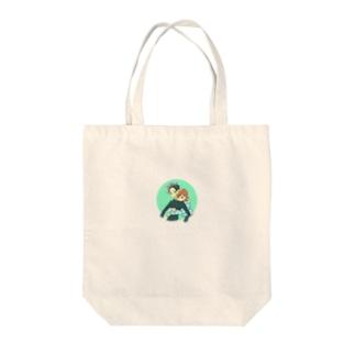 いちゃいちゃ バック Tote bags