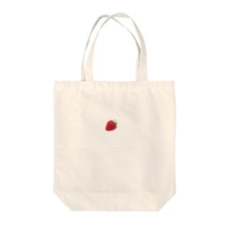 いちご2 Tote bags
