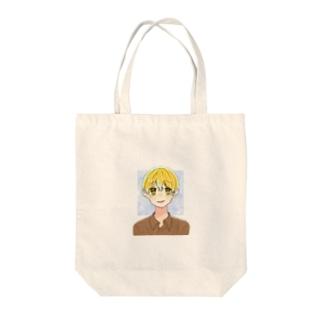 花房真樹 Tote bags