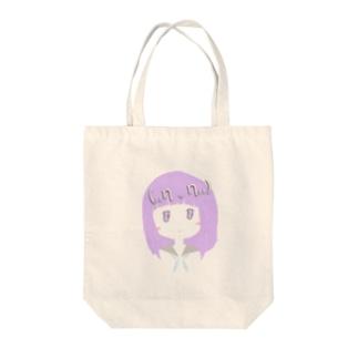 (,,η v η,,)Miwa Kurumi Tote bags