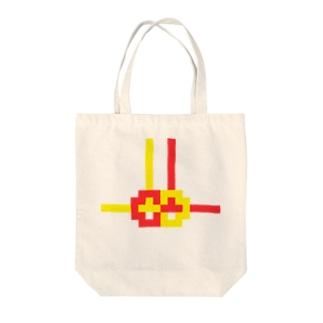 ドット水引(あわじ結び) Tote bags