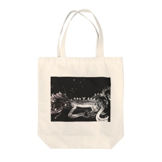 モノトーン Tote bags