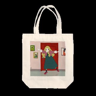RINIのドア Tote bags