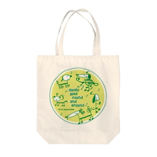 音符犬 Tote bags