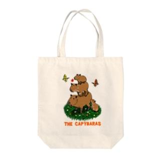 the capybaras Tote bags