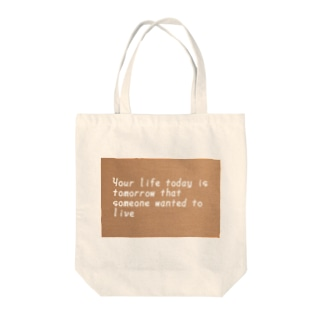 ❤ Your life Tote bags