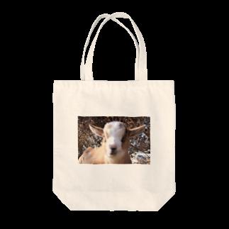 ino_taroのピンボケ 子ヤギくん Tote bags