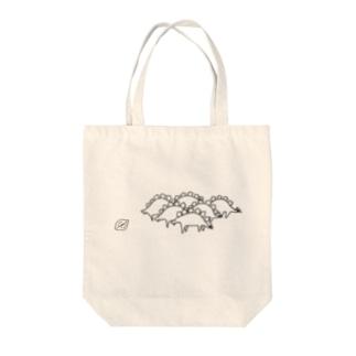全然割れてないピスタチオ対3千のステゴサウルス Tote bags