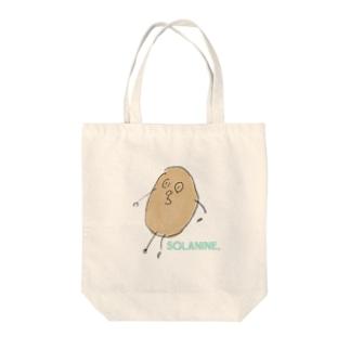 ソラニン Tote bags