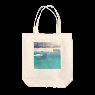 小豹🐆の水鳥の夢うつつ Tote bags