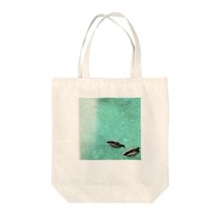 水鳥の夢うつつ⑵ Tote bags