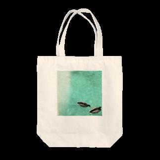 小豹🐆の水鳥の夢うつつ⑵ Tote bags