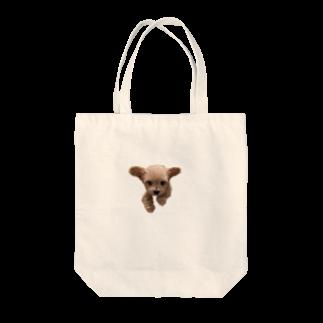 hiramechanのトイプーひらめ Tote bags