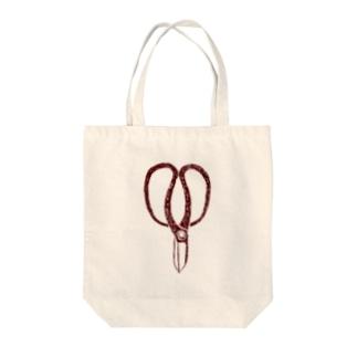 植木職人専用デザイン「植木屋鋏」 Tote bags