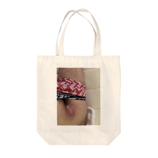 U54770のケツニキビ Tote bags
