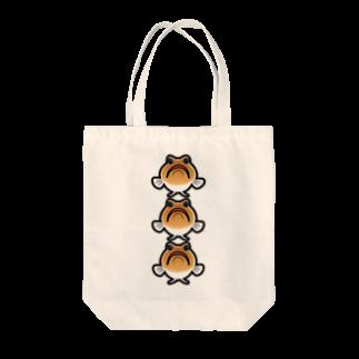 hiromu.のドット・ジョー(3連ver.) Tote bags