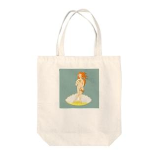 ボッティチェリ「ヴィーナスの誕生」  Tote bags