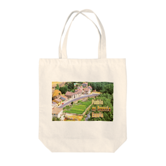FUCHSGOLDのスペイン:セゴビア郊外の村 Spain: Village in Segovia Tote bags