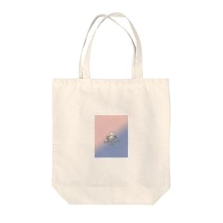 Yoon-1004-95のたこ Tote bags