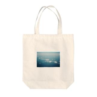 Shogo Hirokiの飛行機からの空 Tote bags