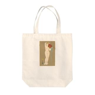 アングル「泉」  Tote bags