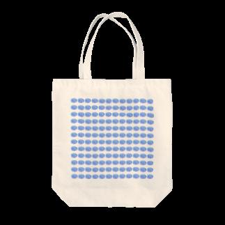 水草のハイパーブルー玉 Tote bags