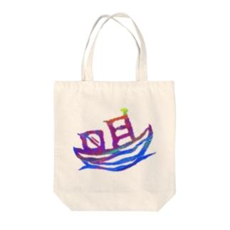 Atsumi印 Tote bags