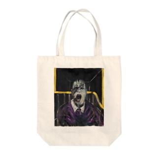 jinjakeの叫ぶ教皇の頭部のための習作 Tote bags