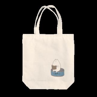"""しろの""""猫""""な雑貨店の秋な猫 Tote bags"""