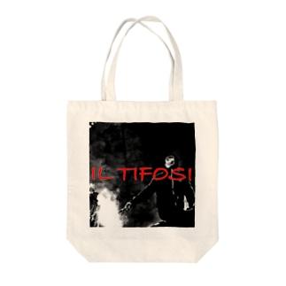 square tifosi Tote bags