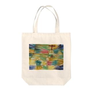 パウル・クレーの絵画「子羊」 Tote bags